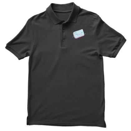 Escape Key Running Men's Polo Shirt Designed By Dirjaart