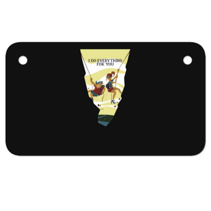 Everything For You Motorcycle License Plate Designed By Dirjaart