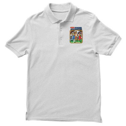 Zombie Apocalypse Men's Polo Shirt Designed By Katoni