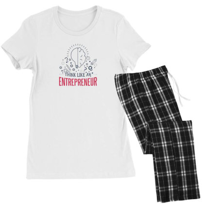 Entrepreneur Women's Pajamas Set Designed By Dirjaart