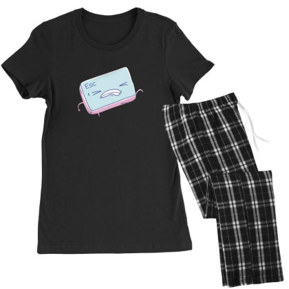 Escape Key Running Women's Pajamas Set Designed By Dirjaart
