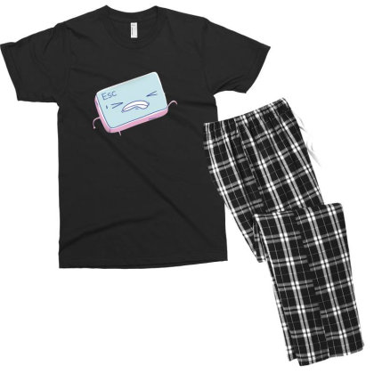 Escape Key Running Men's T-shirt Pajama Set Designed By Dirjaart