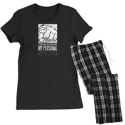Ersonal Space Women's Pajamas Set Designed By Dirjaart