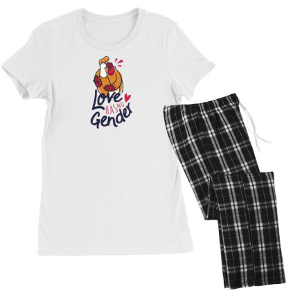 Equal Love Women's Pajamas Set Designed By Dirjaart