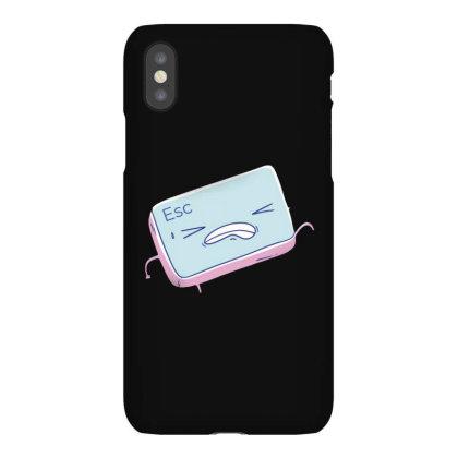 Escape Key Running Iphonex Case Designed By Dirjaart