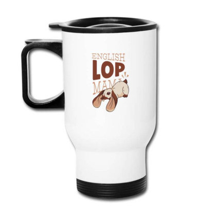 English Lop Mama Travel Mug Designed By Dirjaart