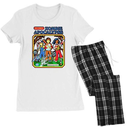 Zombie Apocalypse Women's Pajamas Set Designed By Katoni