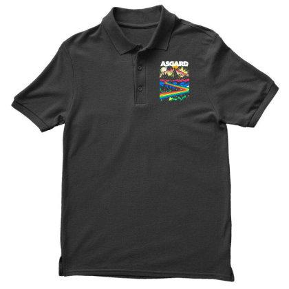 Visit Asgard Land Men's Polo Shirt Designed By Katoni