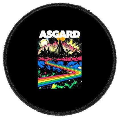 Visit Asgard Land Round Patch Designed By Katoni