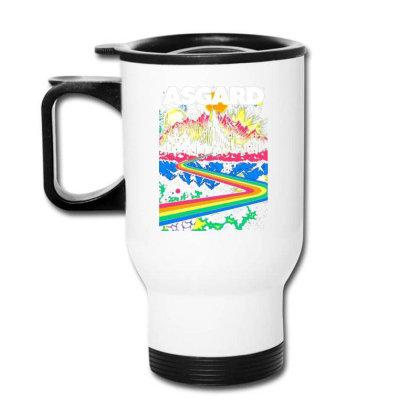 Visit Asgard Land Travel Mug Designed By Katoni