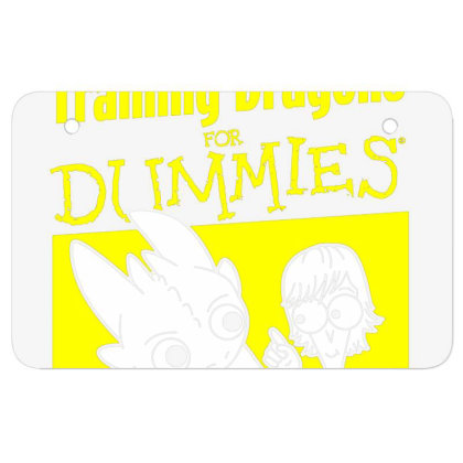 Training Dragons For Dummies Atv License Plate Designed By Katoni