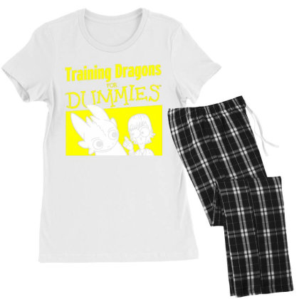 Training Dragons For Dummies Women's Pajamas Set Designed By Katoni
