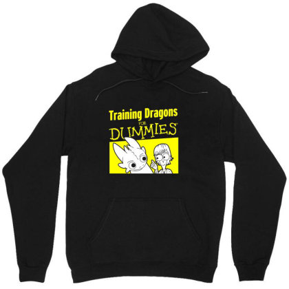 Training Dragons For Dummies Unisex Hoodie Designed By Katoni