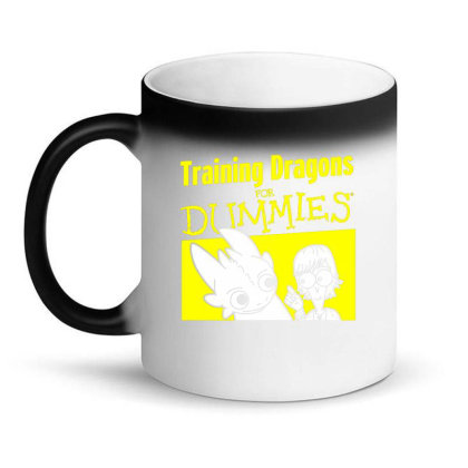 Training Dragons For Dummies Magic Mug Designed By Katoni