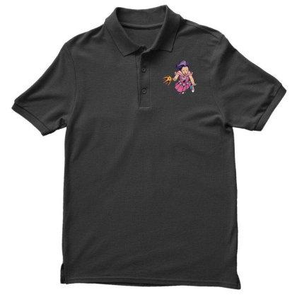 Falling Girl Men's Polo Shirt Designed By Dirjaart