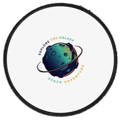 Explore The Galaxy Round Patch Designed By Dirjaart