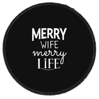 Family Life Round Patch Designed By Dirjaart