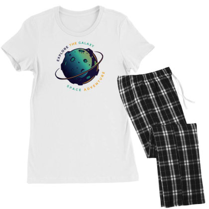 Explore The Galaxy Women's Pajamas Set Designed By Dirjaart