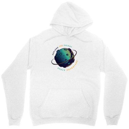 Explore The Galaxy Unisex Hoodie Designed By Dirjaart