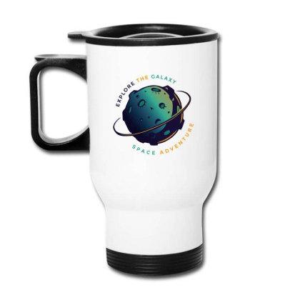 Explore The Galaxy Travel Mug Designed By Dirjaart