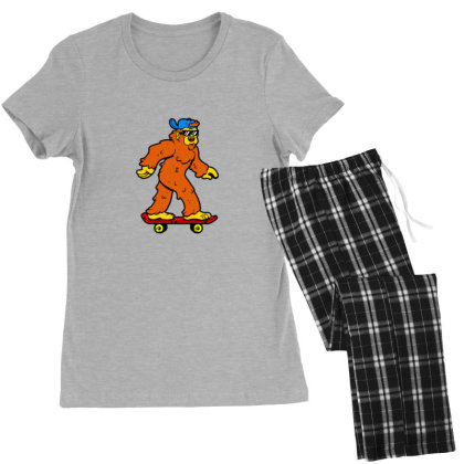 Skatesquatch Women's Pajamas Set Designed By Sr88