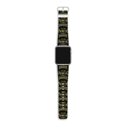 Father Day Apple Watch Band Designed By Dirjaart