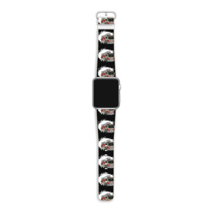 Fireman Truck Apple Watch Band Designed By Dirjaart