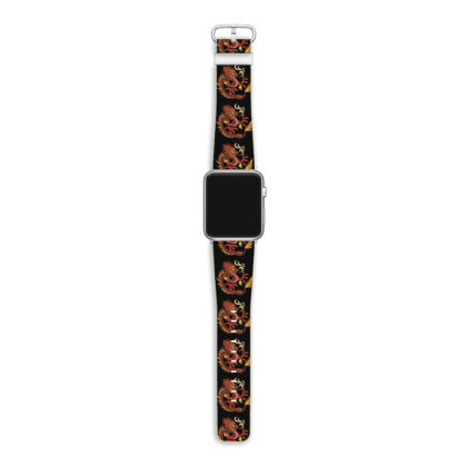 Fire Dragon Apple Watch Band Designed By Dirjaart