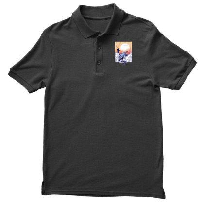 Fisherman Men's Polo Shirt Designed By Dirjaart