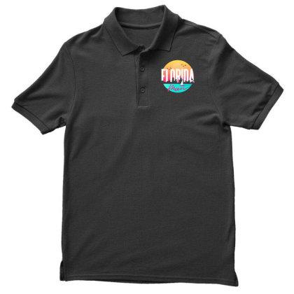 Florida Man Men's Polo Shirt Designed By Dirjaart
