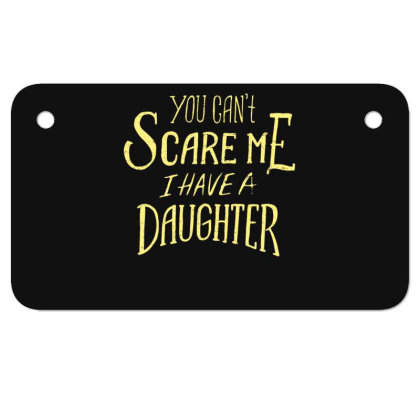 Father Day Motorcycle License Plate Designed By Dirjaart