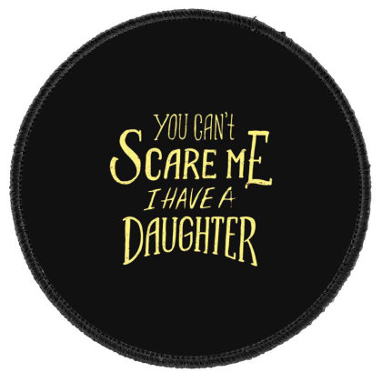 Father Day Round Patch Designed By Dirjaart