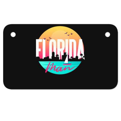 Florida Man Motorcycle License Plate Designed By Dirjaart