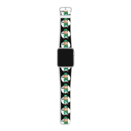 Flossing Leprechaun Apple Watch Band Designed By Dirjaart
