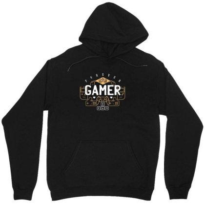Forever Gamer Unisex Hoodie Designed By Dirjaart
