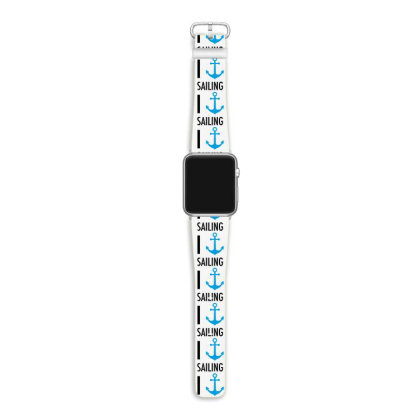 I Heart Sailing Apple Watch Band Designed By Ramateeshirt