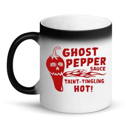 Ghost Pepper Sauce Magic Mug Designed By Buwono
