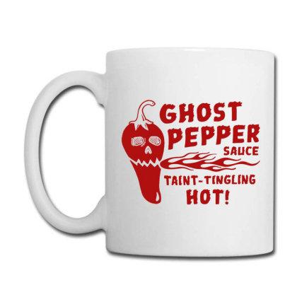 Ghost Pepper Sauce Coffee Mug Designed By Buwono