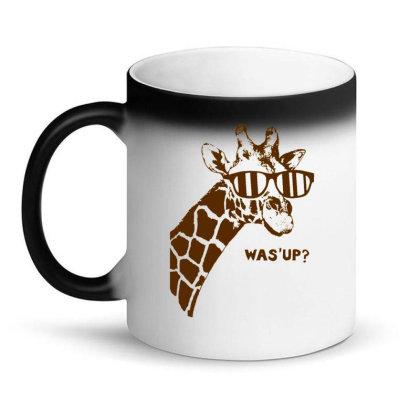 Giraffe Was Up Magic Mug Designed By Buwono