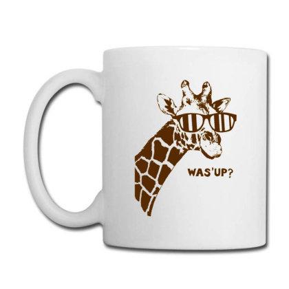Giraffe Was Up Coffee Mug Designed By Buwono