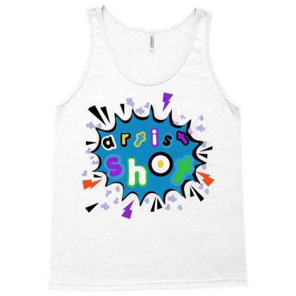 Artist Shot Popart Tank Top Designed By Mysticalbrain
