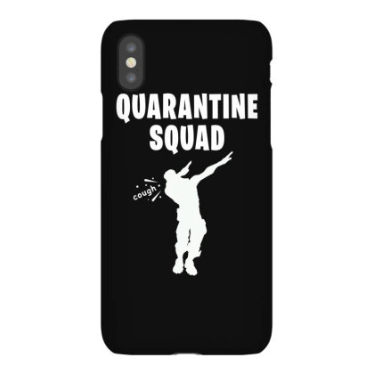 Quarantine Squad Iphonex Case Designed By Honeysuckle