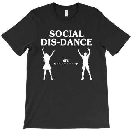 Social Dis-dance T-shirt Designed By Honeysuckle
