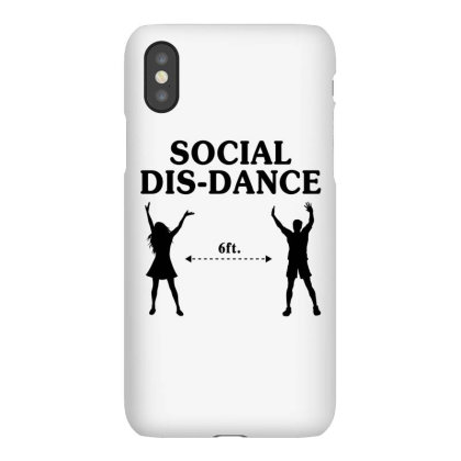 Social Dis-dance Iphonex Case Designed By Honeysuckle