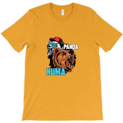 Kuma And Panda T-shirt Designed By Asatya