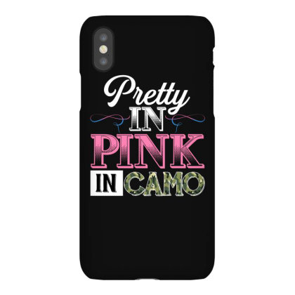 Pretty In Pink Dangerous In Camo For Dark Iphonex Case Designed By Sengul