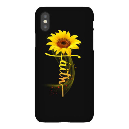 Faith Sunflower Iphonex Case Designed By Sengul