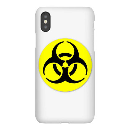 Biological Hazard Hazard Symbol Sign Iphonex Case Designed By Salmanaz