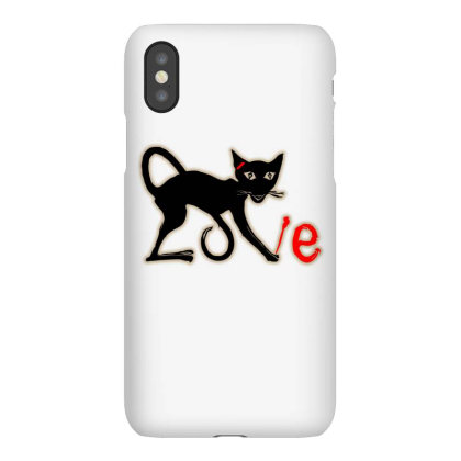 I Love Graffiti Cats Graphic Iphonex Case Designed By Blackheart