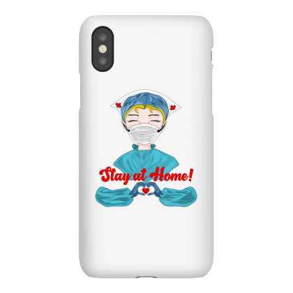 Stay At Home Iphonex Case Designed By Mysticalbrain